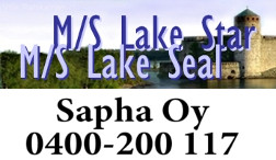 Sapha Oy M/S Lake star M/S Lake seal logo