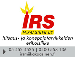 IRS Miika Kaasinen Oy logo
